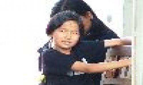 Zdjecie LAOS / brak / Vientiane / Dziewczynka