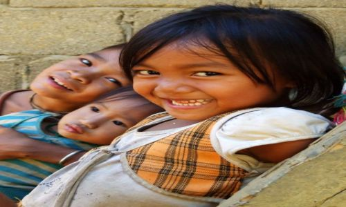 Zdjecie LAOS / - / okolice Muang Ngoi / uśmiech