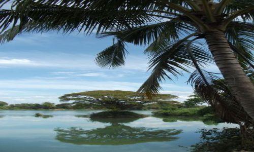Zdjecie LAOS / Si Pa Don... kraina 4000 wysp... rzeka Mekong.... / rzeka Mekong / ... odbicie ...