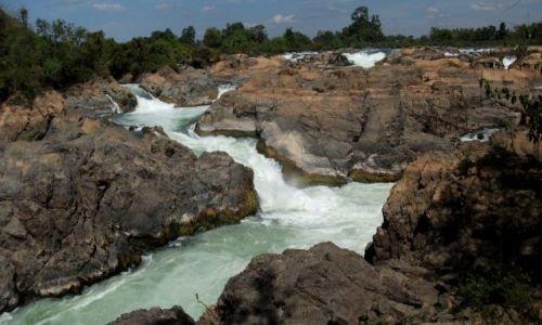 Zdjecie LAOS / Si Pa Don... kraina 4000 wysp... rzeka Mekong.... / rzeka Mekong / ... spokojnie, bo to sucha pora ....