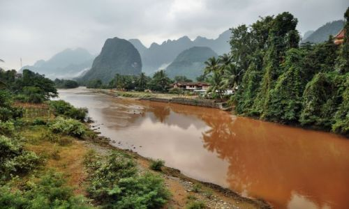 Zdjęcie LAOS / - / Vang Vieng / okolice Vang Vieng