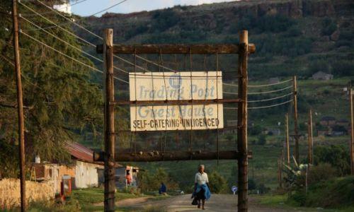 Zdjęcie LESOTHO / Roma / Trading Post Guest House / Podziękowanie