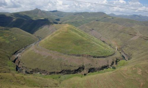 Zdjecie LESOTHO / G�ry / Mohale / Panorama Mohale