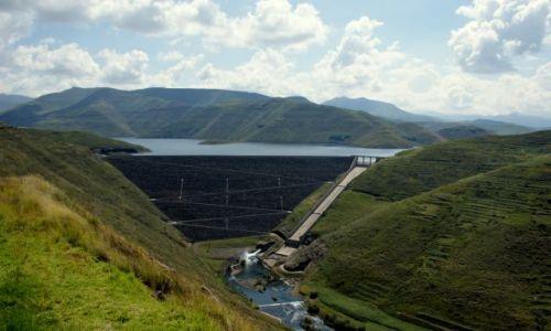 LESOTHO / Mohale / Zapora / Mohale Dam