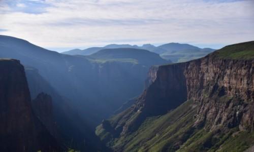 Zdjęcie LESOTHO / Płd. Lesoto / Semonkong / Wschód słońca