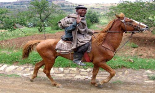 LESOTHO / po�nocne Lesotho / Roma / pozdrowienia dla wszystkich