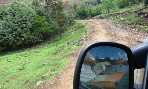 LESOTHO / Semonkong / droga / droga międzymiastowa