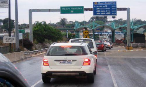 Zdjecie LESOTHO / Lesoto zachodnie / przejście graniczne / Maseru Bridge