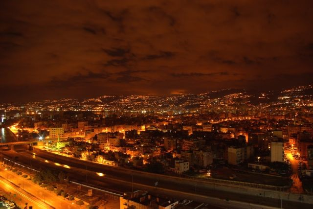Zdjęcia: Beirut, Beirut nocą , LIBAN