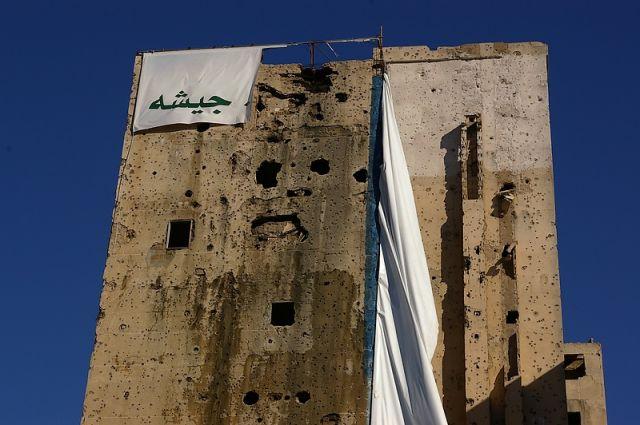 Zdjęcia: Beirut, Wojenna pamiątka, LIBAN