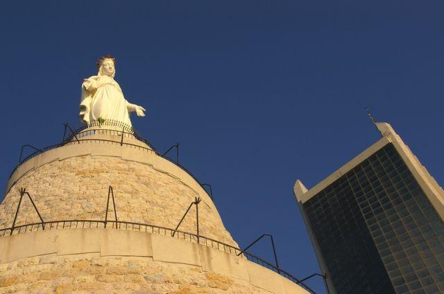 Zdjęcia: Jounieh, Dziewica Libańska w Jounieh, LIBAN