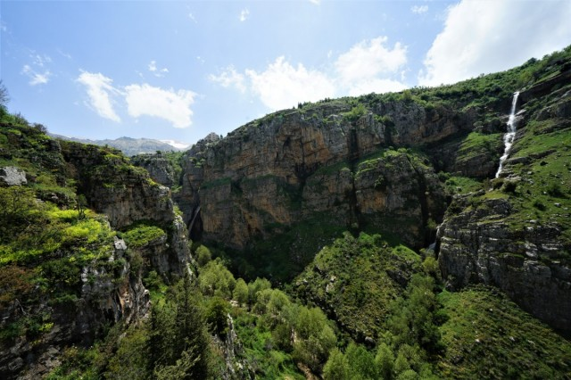 Zdjęcia: Dolina Kadisha, Liban Północny , Dziesiątki wodospadów, LIBAN
