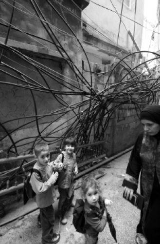 Zdjęcia: Bejrut obóz dla uchodzców z Palestyny, Beirut, LIBAN