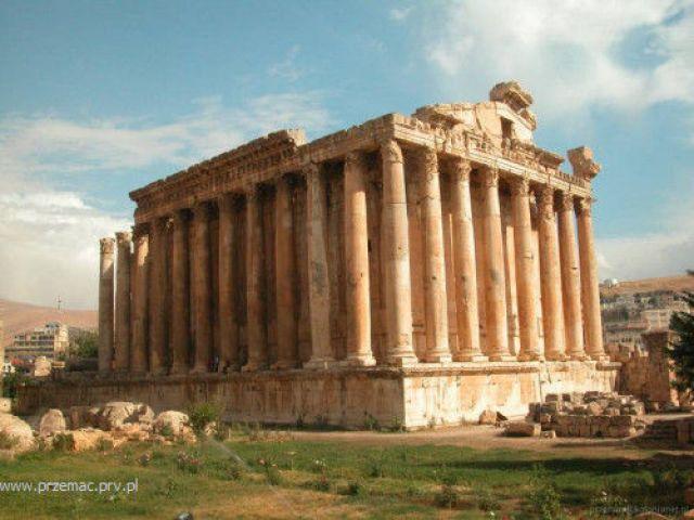 Zdjęcia: Baalbek, Świątynia Bachusa, LIBAN