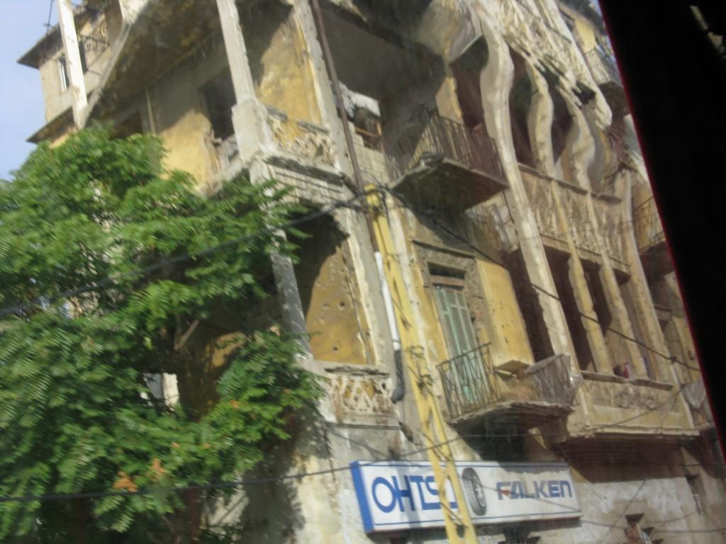 Zdjęcia: Bejrut, Bejrut jeszcze ranny po wojnie 2, LIBAN