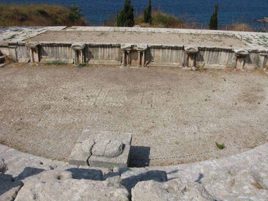 Zdjęcia: Byblos, Ruiny teatru Byblos, LIBAN