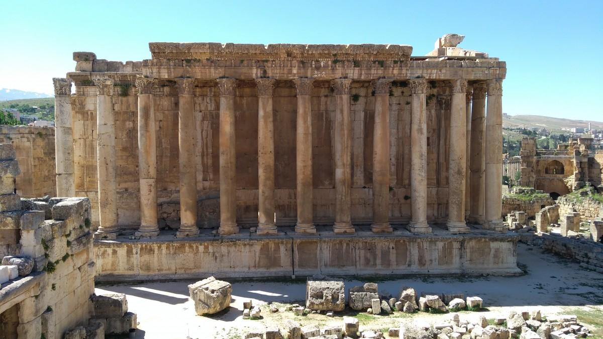 Zdjęcia: Baalbek, Dolina Bekaa, Świątynia  Bachusa, LIBAN