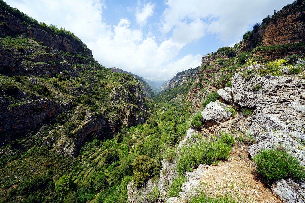 Zdjęcia: ., Bszarri, Dolina Kadisha, LIBAN
