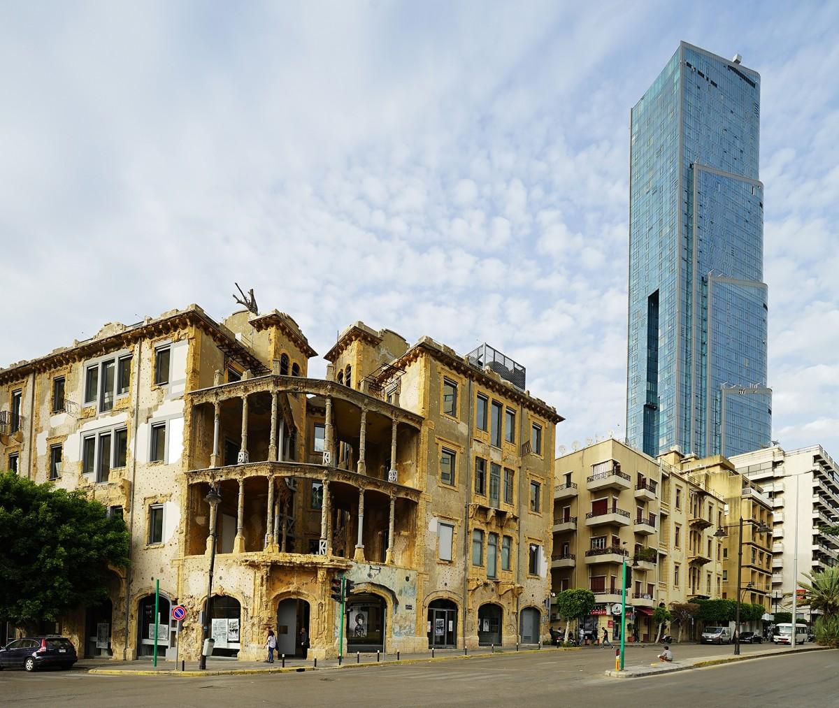 Zdjęcia: ., Bejrut, Miasto odradza się z gruzów wojny, LIBAN