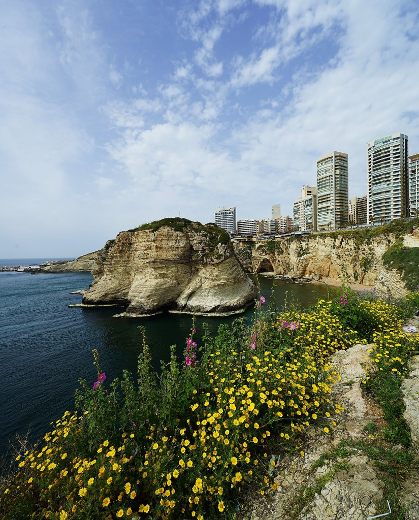 Zdjęcia: ., Bejrut, Na klifie, LIBAN