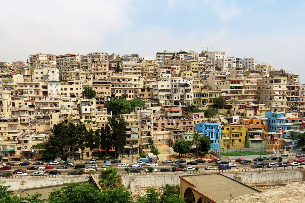 Zdjęcia: Trypolis, Kada Trypolis, Panorama z cytadeli, LIBAN