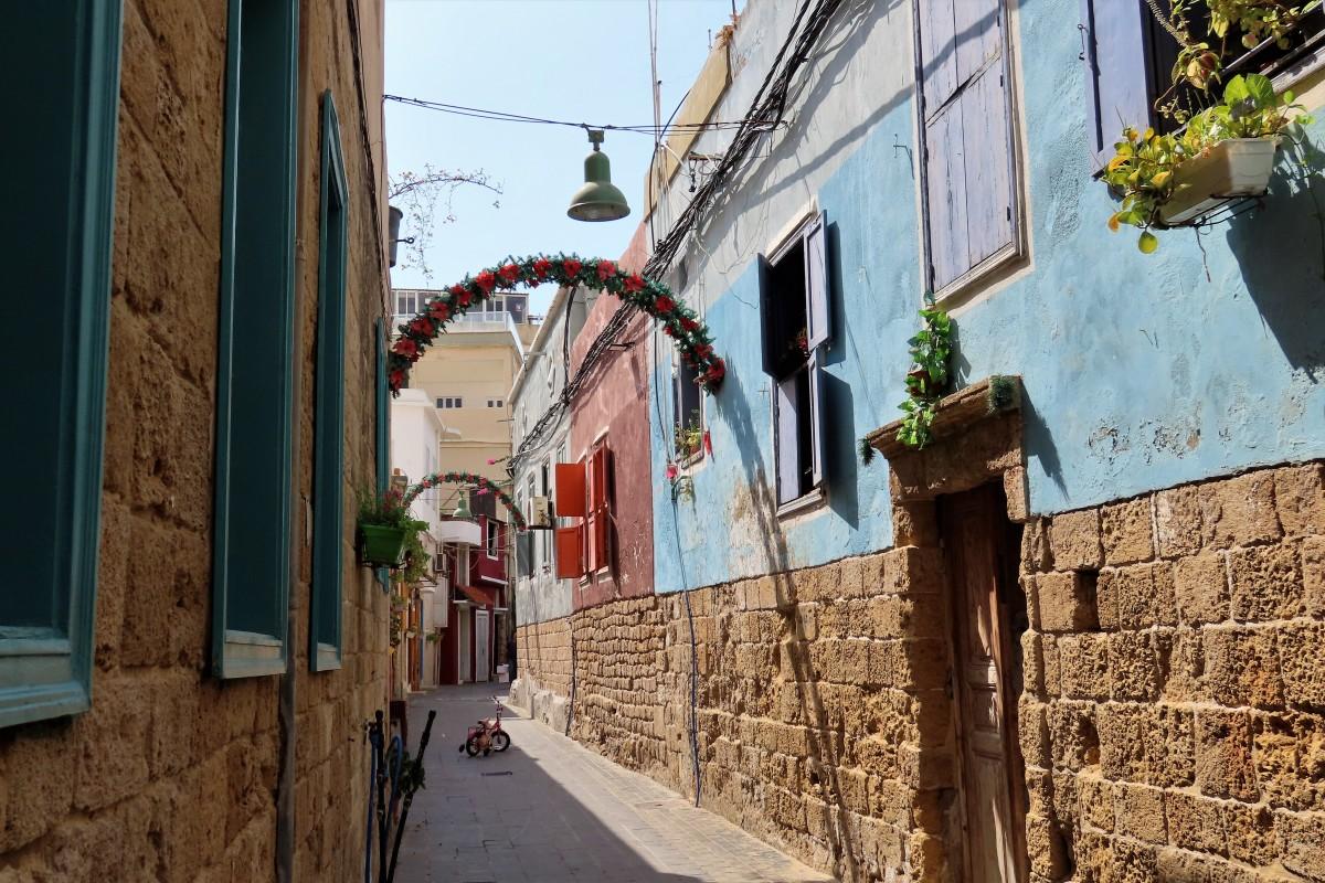 Zdjęcia: Tyr, uliczka, LIBAN