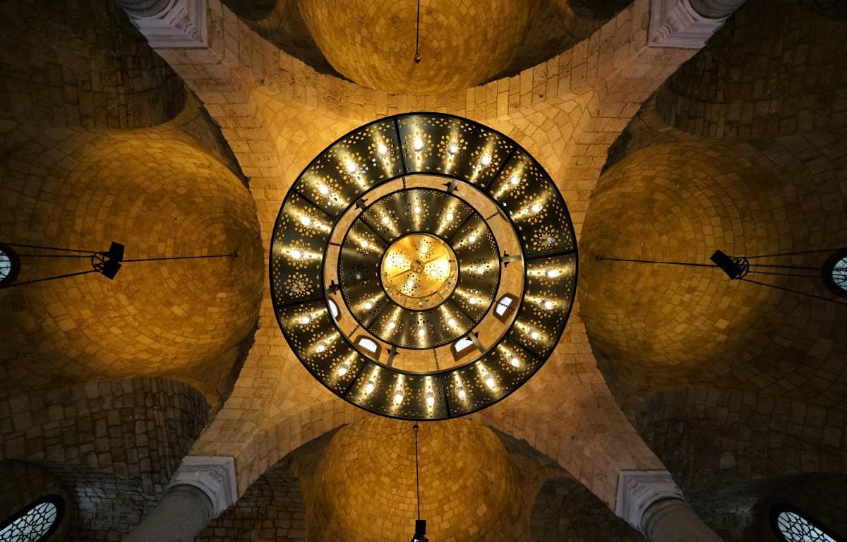 Zdjęcia: Wielki meczet Al-Omari , Bejrut, Sklepienie, LIBAN