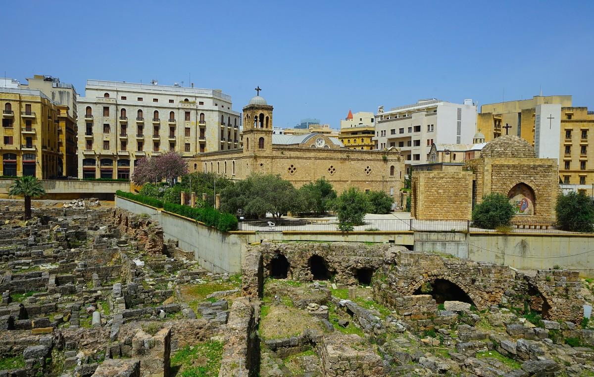 Zdjęcia: Stare miasto, Bejrut, Na gruzach hellenistyczno-rzymskich, LIBAN