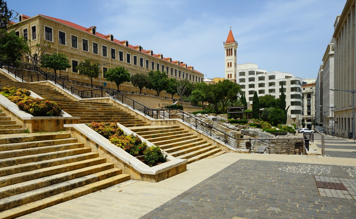Zdjęcia: ., Bejrut, Zaułki miasta, LIBAN
