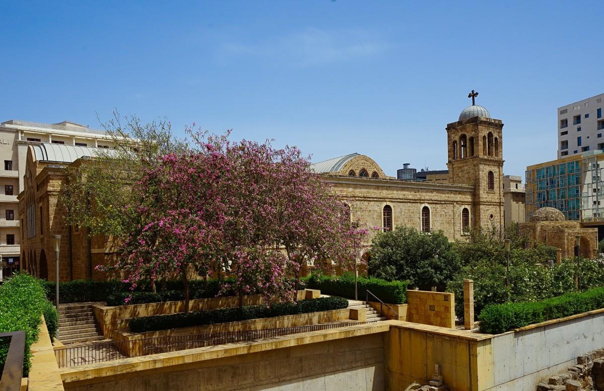 Zdjęcia: ., Bejrut, Katedra św. Jerzego, LIBAN