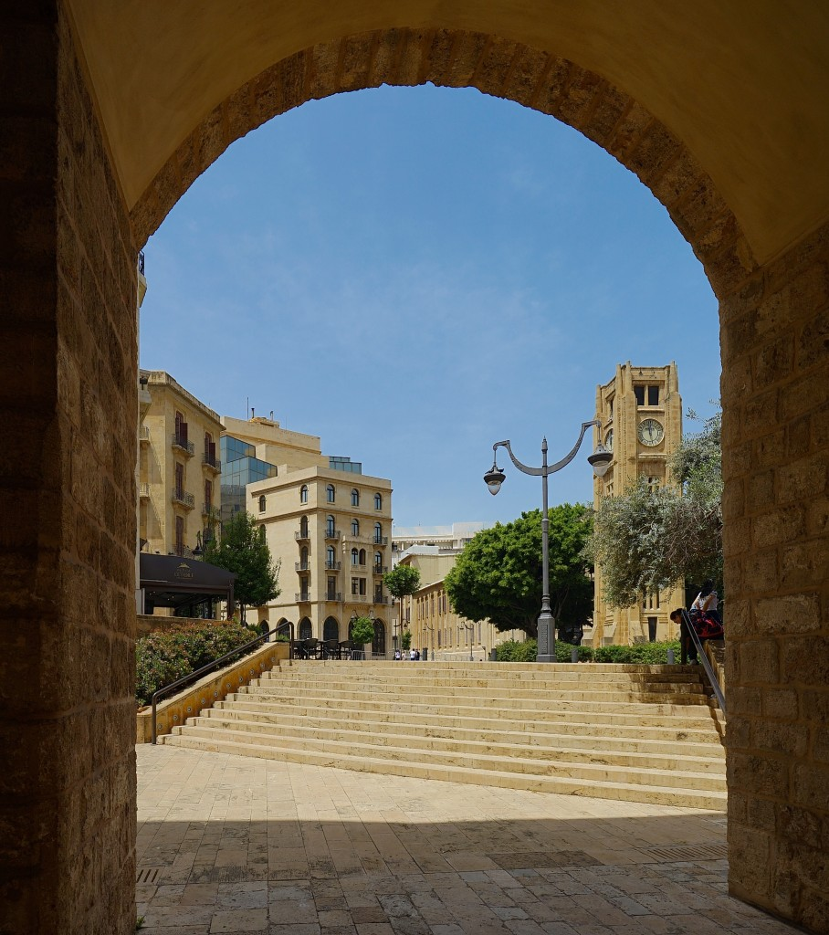 Zdjęcia: ., Bejrut, Widok na Plac Gwiazdy, LIBAN