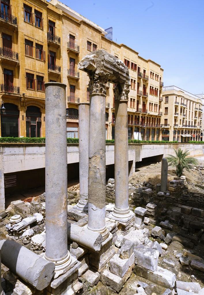 Zdjęcia: ., Bejrut, Na gruzach starożytnego miasta, LIBAN