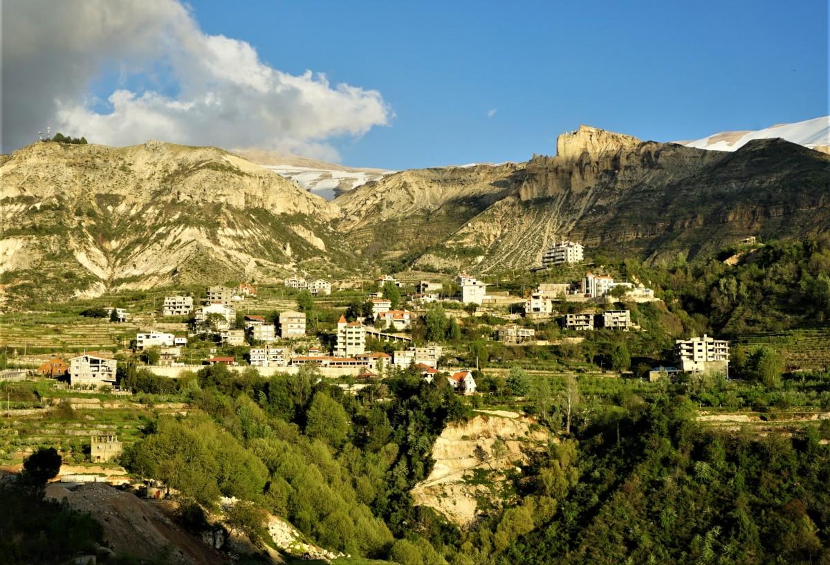 Zdjęcia:  Dolina Kadisha, Liban Północny, Góry i pagóry, LIBAN