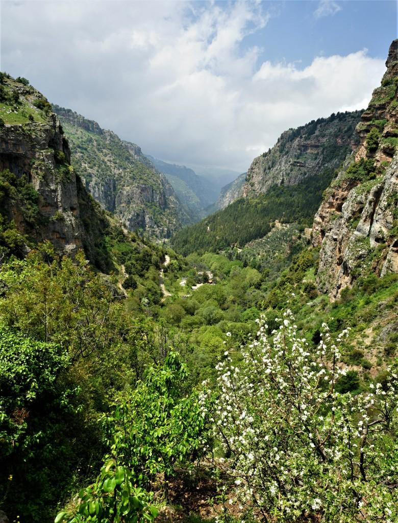 Zdjęcia:  Dolina Kadisha, Liban Północny, 20 km do przejścia, LIBAN