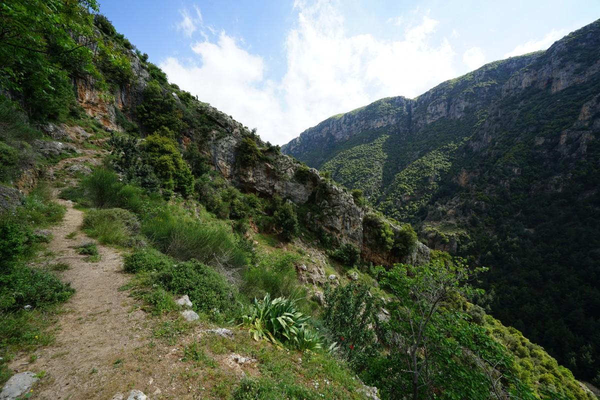 Zdjęcia: Dolina Kadisha, Liban Północny , Wzdłuż szlaku, LIBAN
