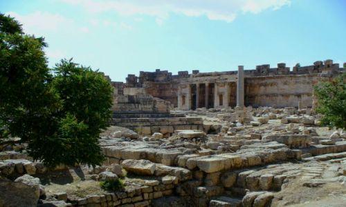 Zdjęcie LIBAN / - / Baalbek / Świątynia boga Baala w Baalbek