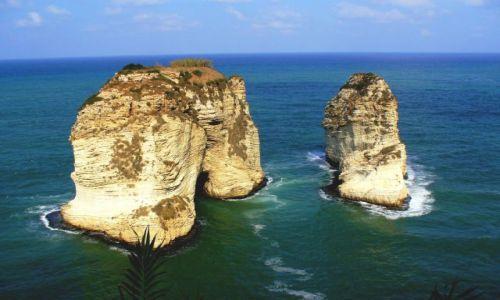 Zdjęcie LIBAN / - / Bejrut / Gołębie Skały