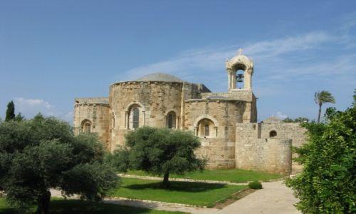 Zdjęcie LIBAN / - / Byblos / Kościół w Byblos