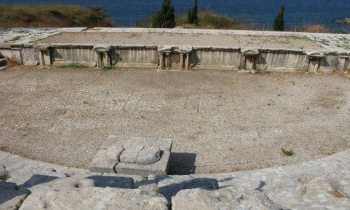 Zdjęcie LIBAN / - / Byblos / Ruiny teatru Byblos