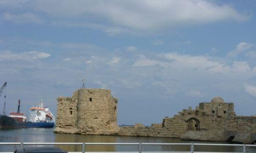 Zdjęcie LIBAN / - / okolice Bejrutu / Port w Byblos