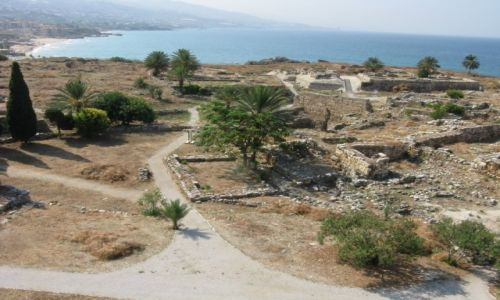 Zdjęcie LIBAN / - / Byblos / Byblos - ruiny portu