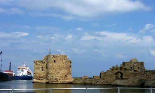 Zdjecie LIBAN / - / Byblos / Port w Byblos