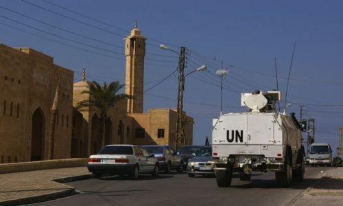 Zdjęcie LIBAN / brak / Sur / Patrol UNIFIL w Sur