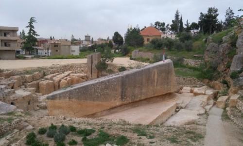 Zdjęcie LIBAN / Dolina Bekaa / Baalbek / Kamień Południa