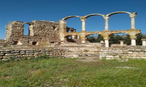 Zdjęcie LIBAN / Dolina Bekaa / Anjar / Ruiny średniowiecznego miasta