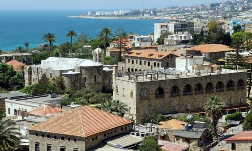 LIBAN / Bejrut / Byblos / Klasztor i kościół maronicki