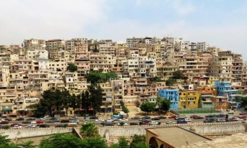 LIBAN / Kada Trypolis / Trypolis / Panorama z cytadeli