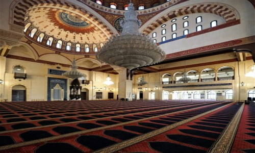 Zdjęcie LIBAN / Bejrut / . / Meczet Mohammad Al-Amin - wnętrze