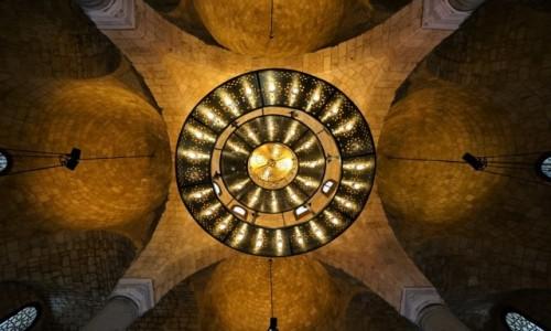 Zdjecie LIBAN / Bejrut / Wielki meczet Al-Omari  / Sklepienie