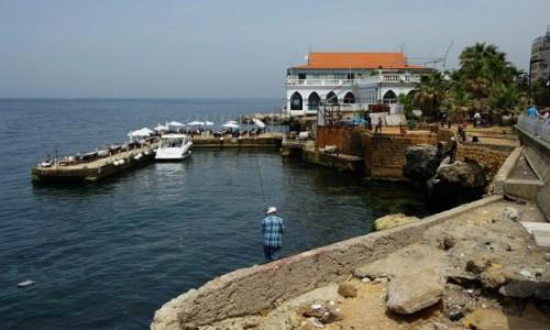 LIBAN / Bejrut / . / Nad bulwarem